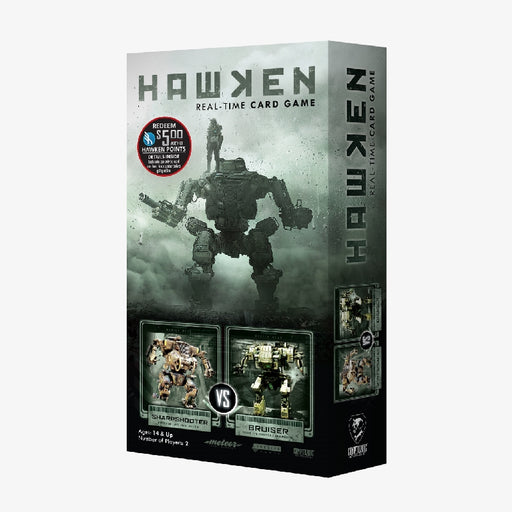 Hawken: Sharpshooter vs Bruiser