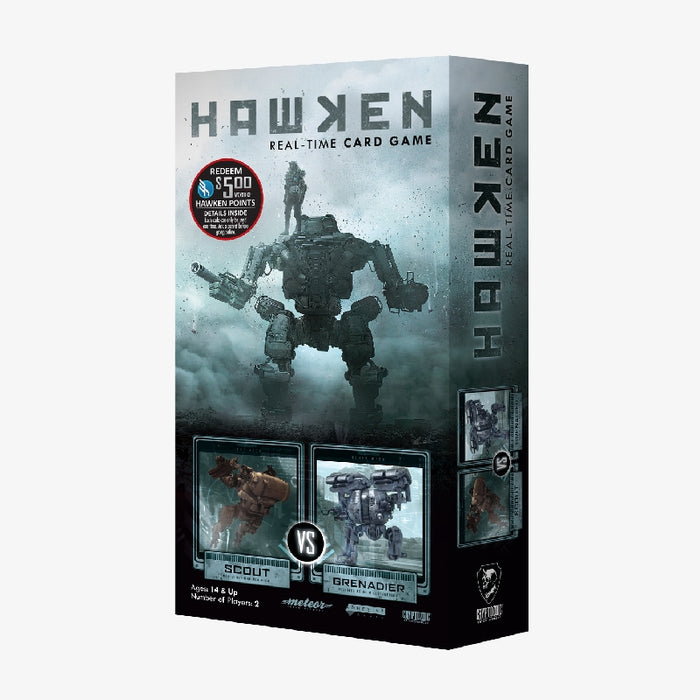 Hawken: Scout vs Grenadier