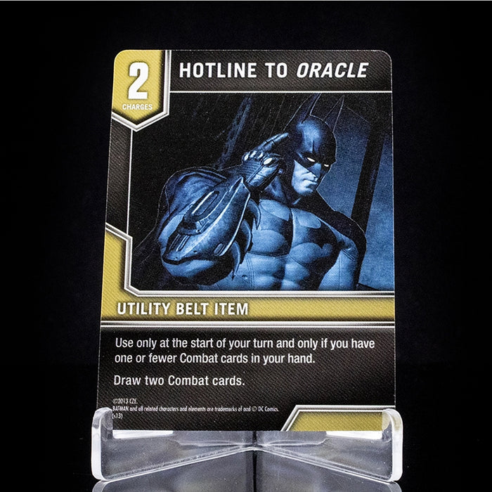 Batman: Arkham City Escape – Hotline to Oracle Promo Card