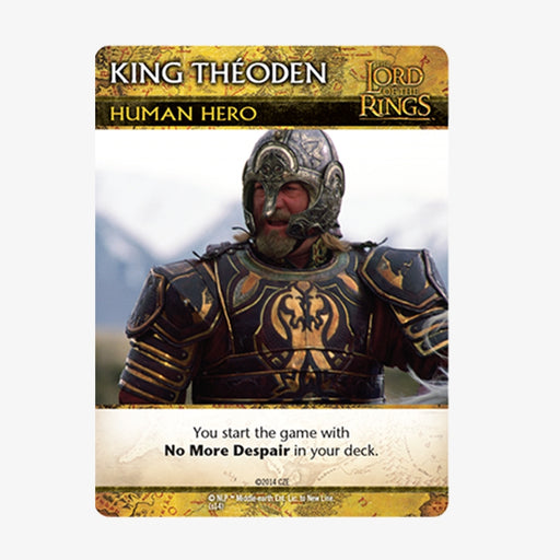 LOTR DBG Promo Card - King Theoden Promo Pack