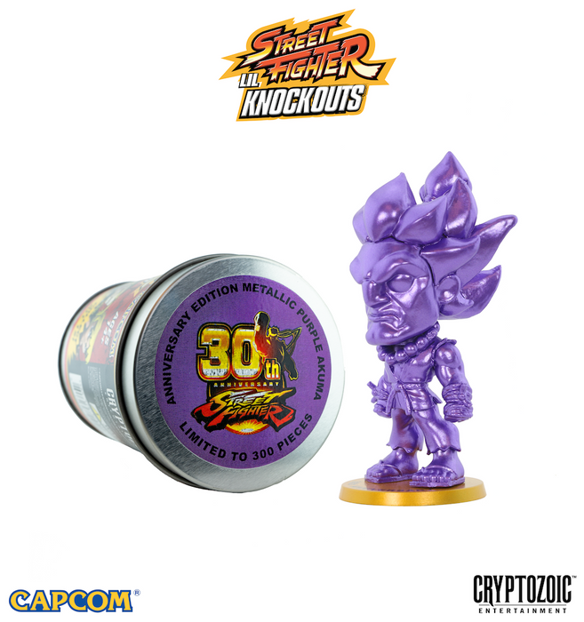 Street Fighter Lil Knockouts - Metallic Purple Akuma (NYCC 2018)