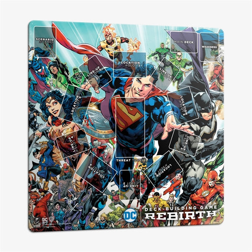 DC Deck-Building Game: Rebirth - Playmat