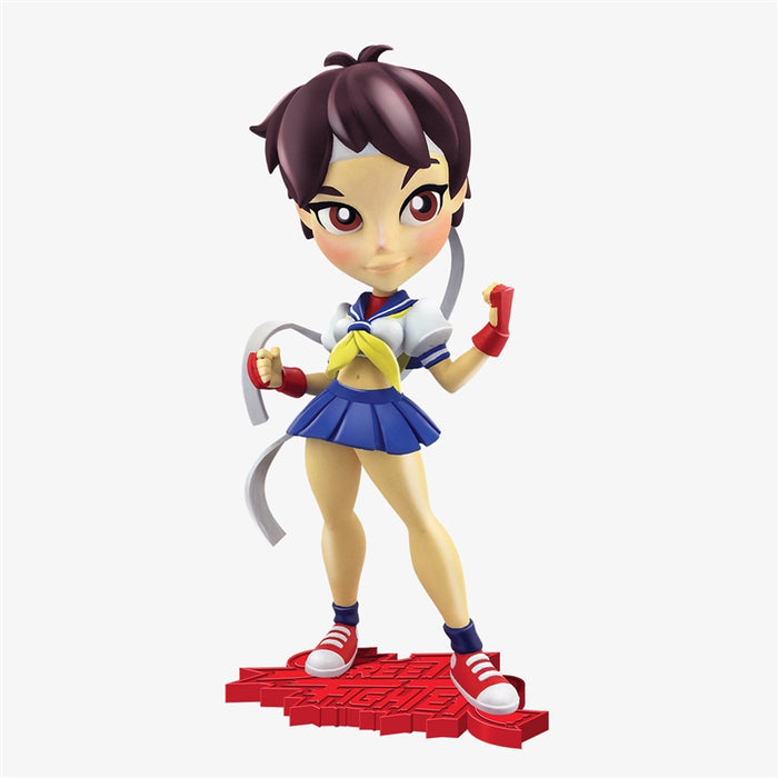 Get ready to get knocked out! Cryptozoic introduces Street Fighter Knockouts, its brand new line of vinyl figures featuring some of the powerful women from Capcom's Street Fighter video game series. Series 1 includes Chun-Li, Cammy, and Sakura.