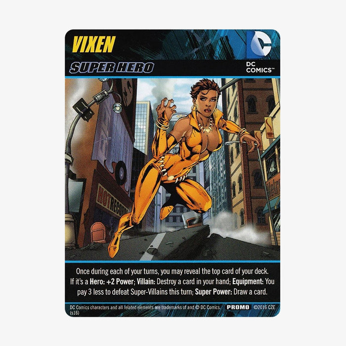 DC Deck-Building Game - Vixen Promo Card