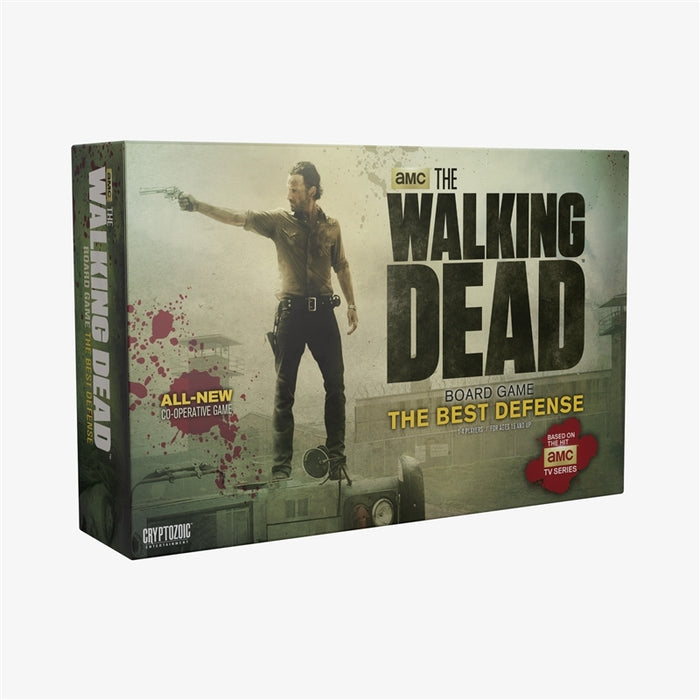 The Walking Dead Board Game: The Best Defense. Will your team survive the endless hordes of Walkers?  The Cryptozoic Store is your one stop for hit Trading Cards and Board Games.