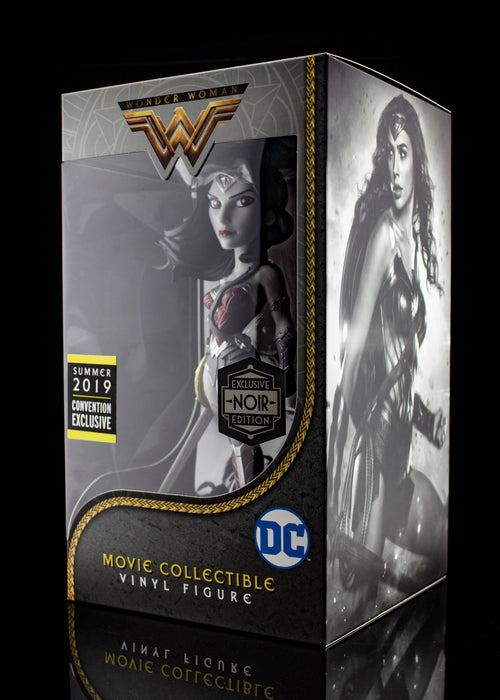Wonder Woman Movie Collectible Vinyl Figure NOIR Edition