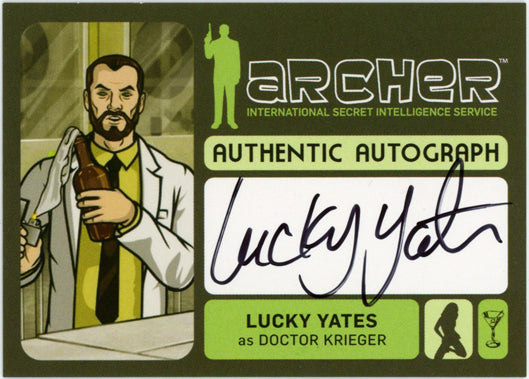 Archer Trading Cards Seasons 1-4