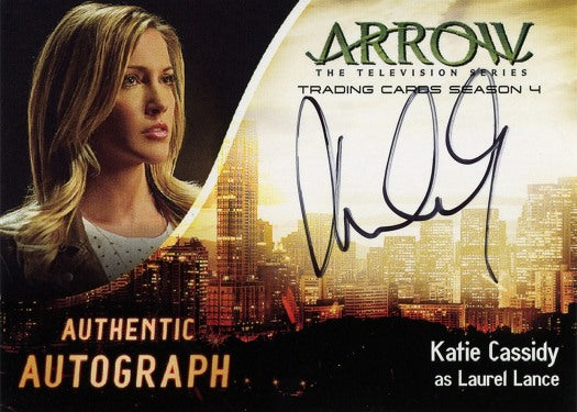 Arrow Trading Cards Season 4
