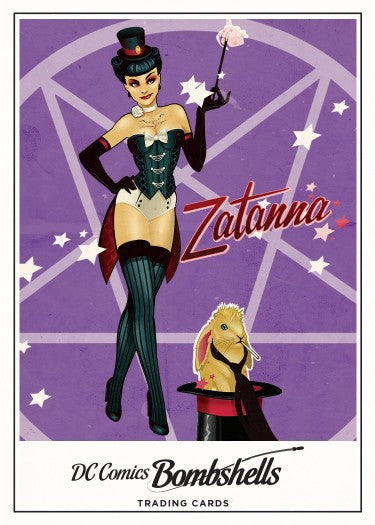 DC Bombshells Trading Cards 1