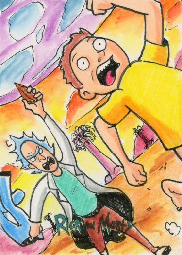 Rick and Morty Trading Cards Season 1