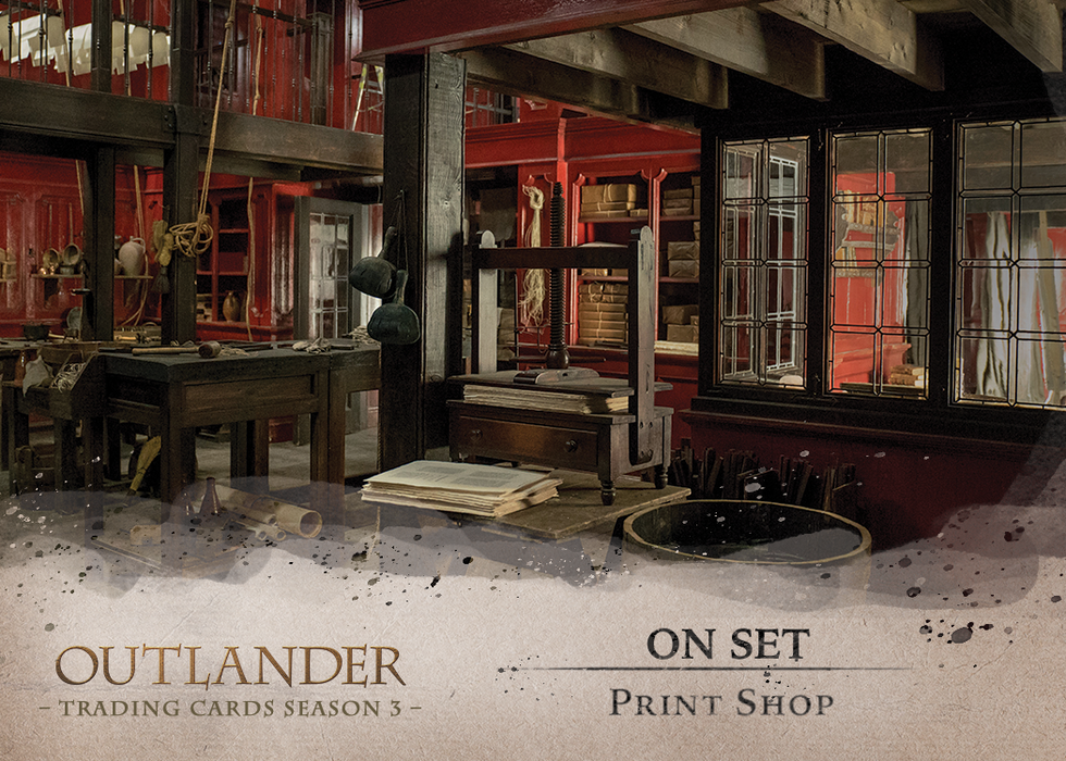 Outlander Trading Cards Season 3