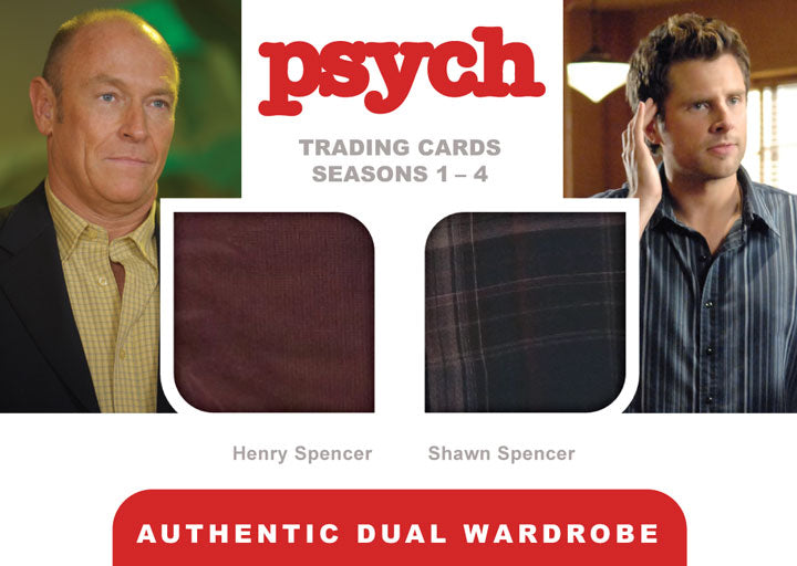 Psych Trading Cards Seasons 1-4