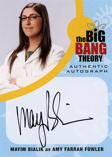 The Big Bang Theory Trading Cards Season 6 & 7
