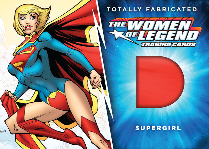 DC Comics The Women of Legend Trading Cards