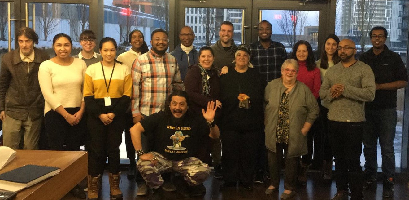 Image of members of the Regent Park Community Benefits Coalition.