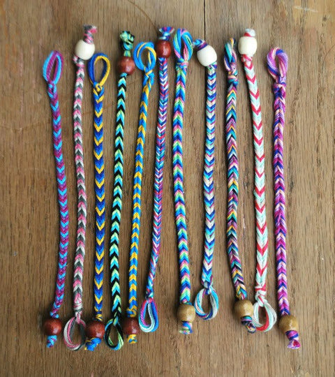 Finishing with Knots & Beads Tutorial
