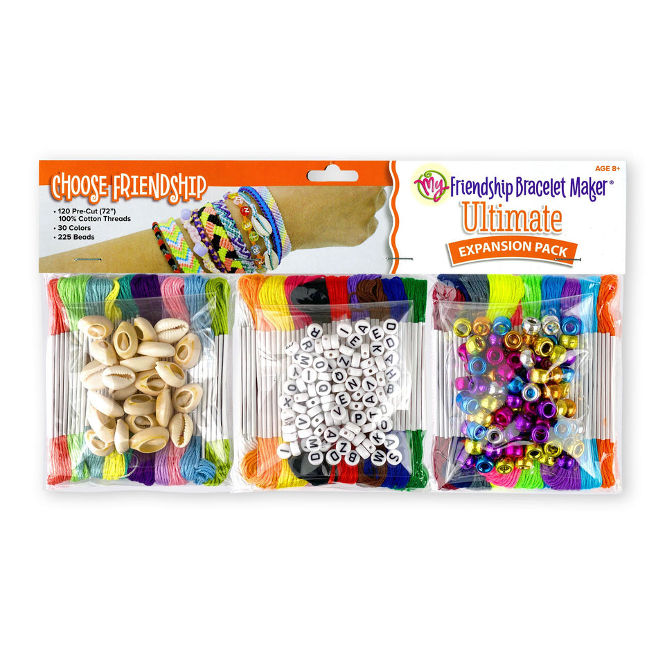My Friendship Bracelet Maker Ultimate Expansion Pack, Makes 24-48 Bracelets