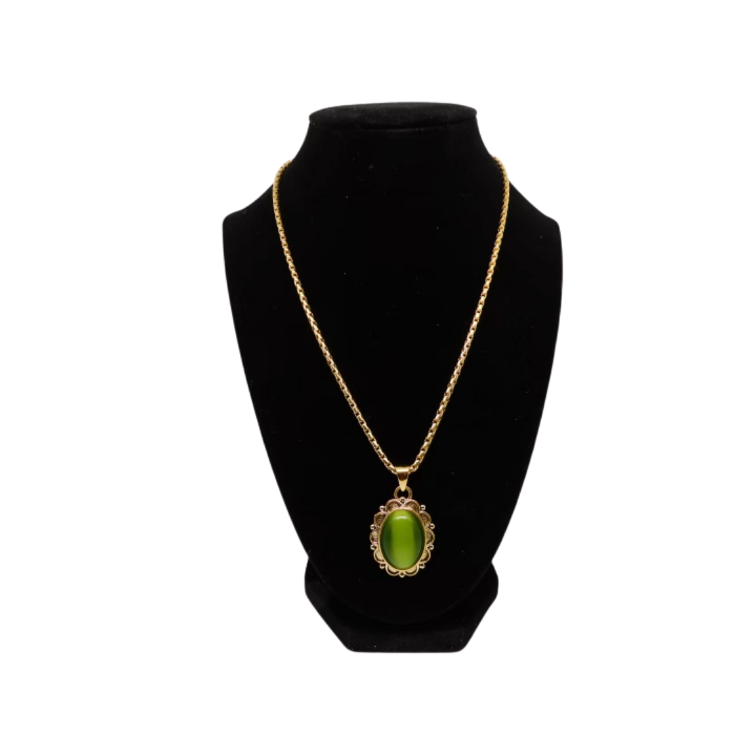 Peridot Necklace & Earrings Sets