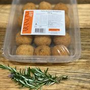 Arancini balls - pumpkin and mozzerella