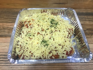 Ready made Chicken Parmigiana  (two portions)