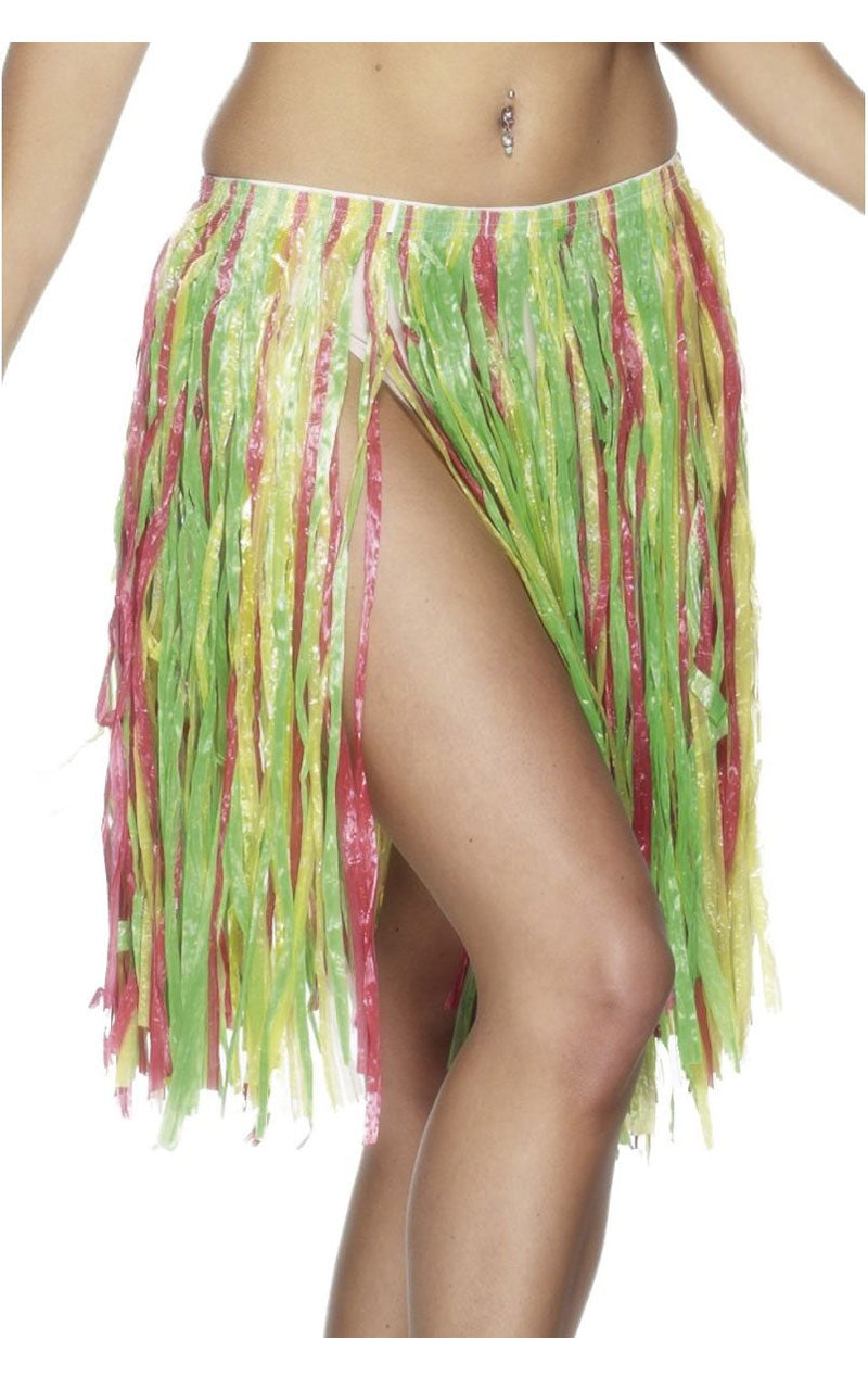 56cm Hawaiian Hula Skirt Multicolour