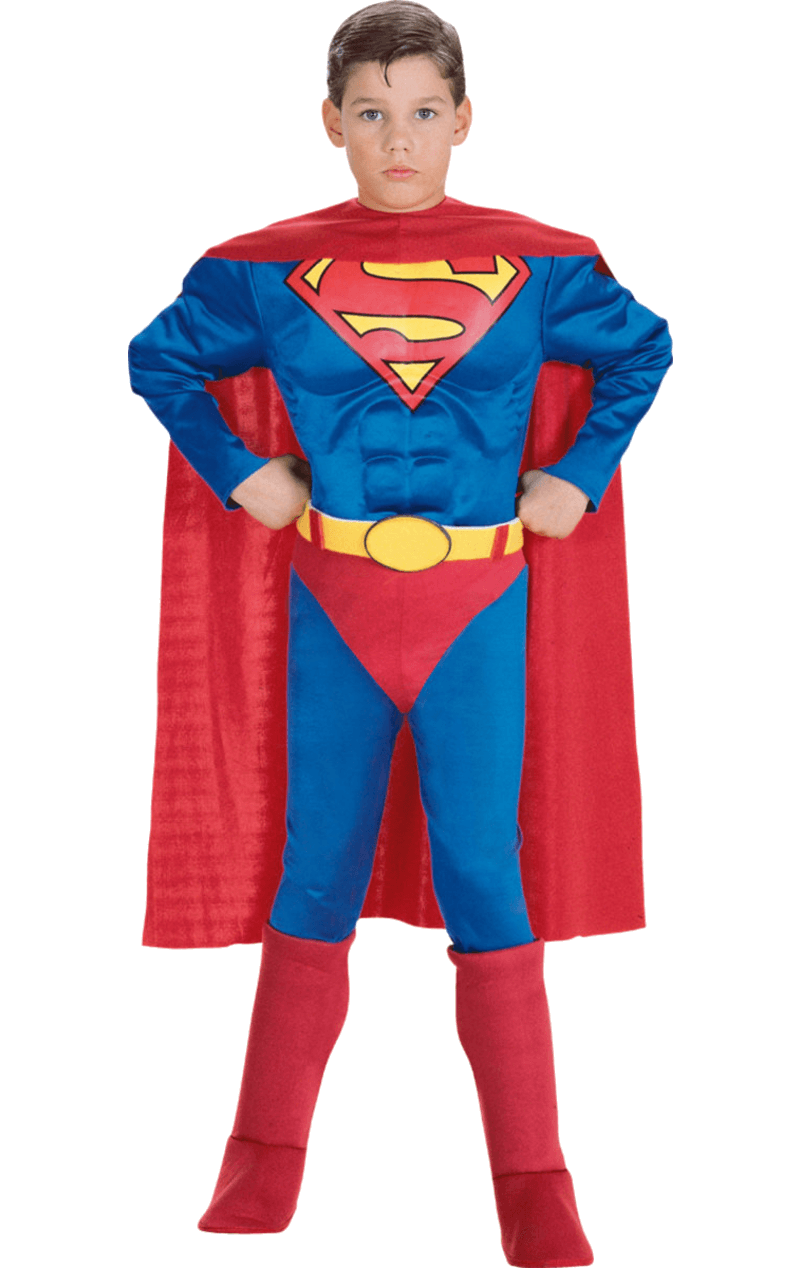 Child Muscle Chest Superman Super Hero