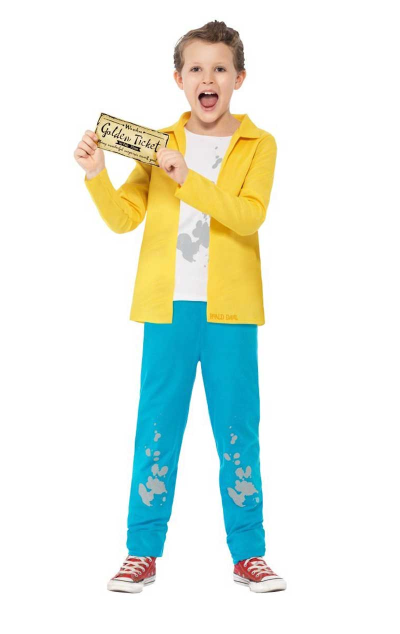 Child Roald Dahl Charlie Bucket Costume