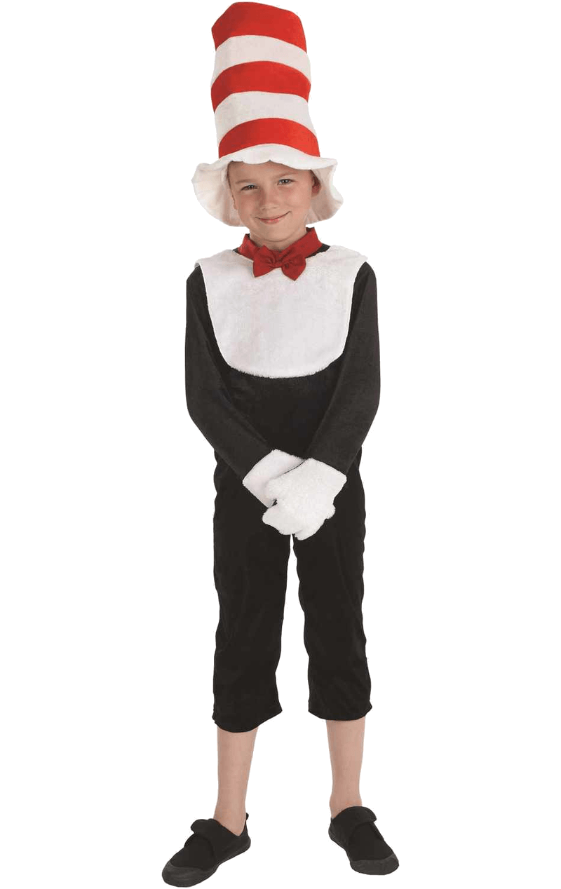 Kids Top Hat Cat Costume