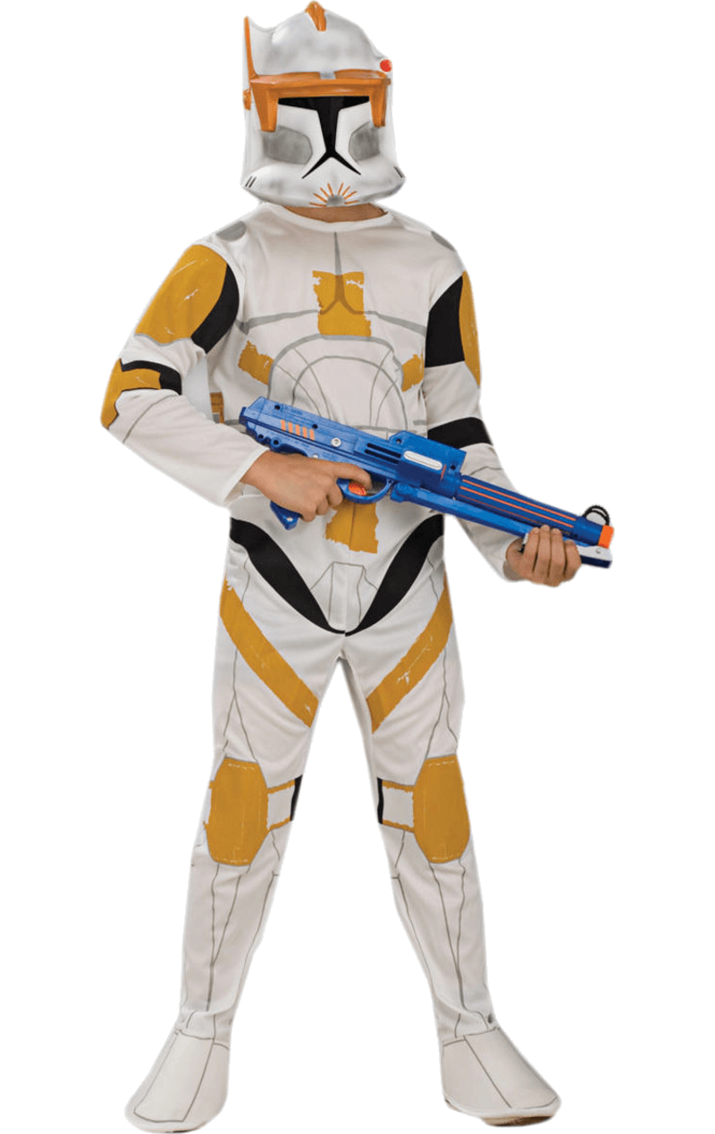 Child Clone Wars Clone Trooper Commander Cody