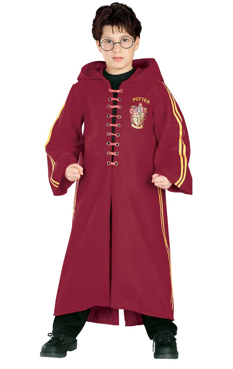 Child Harry Potter Quidditch Deluxe Robe