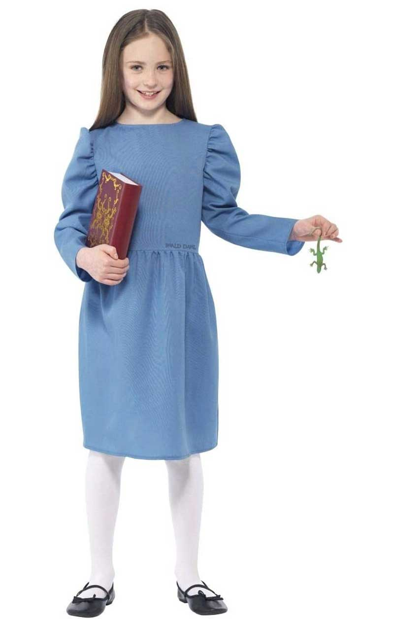 Child Roald Dahl Matilda Costume