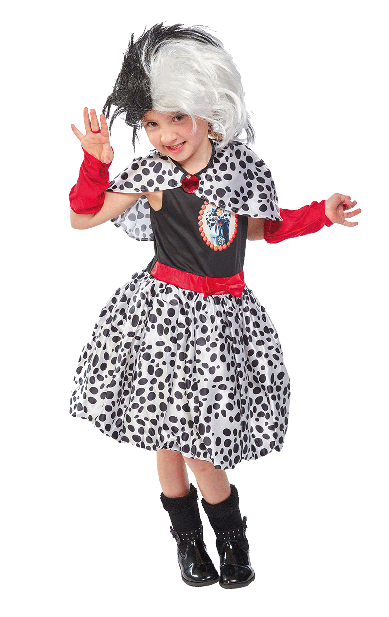 Child Disney Cruella De Vil costume