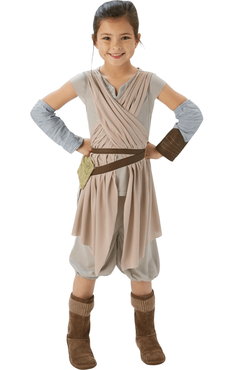 Star Wars Child Rey Deluxe Costume
