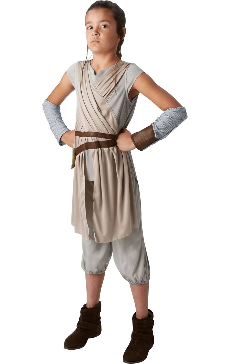 Star Wars Child Rey Deluxe Age 9+ Costume