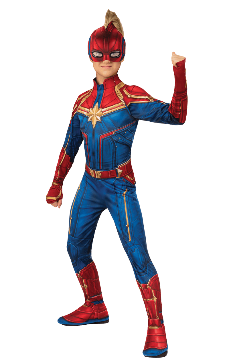 Kids Captain Marvel Costume