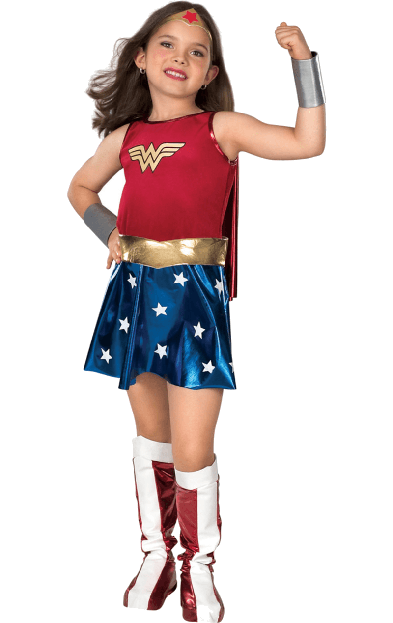 Child Deluxe Wonder Woman Super Hero Costume