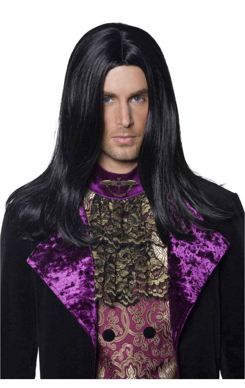 Adult Gothic Count Wig