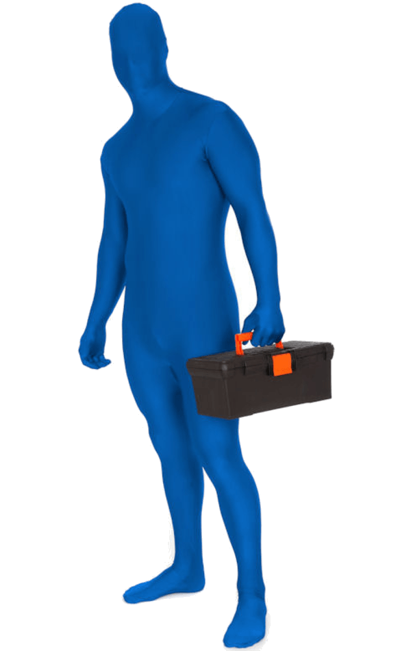 Blue Morphsuit
