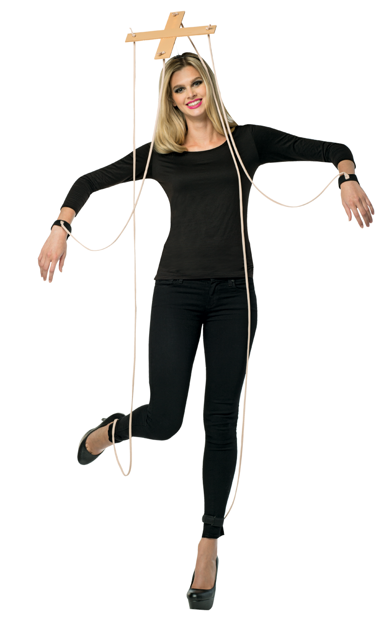 Adult Marionette Puppet String Costume