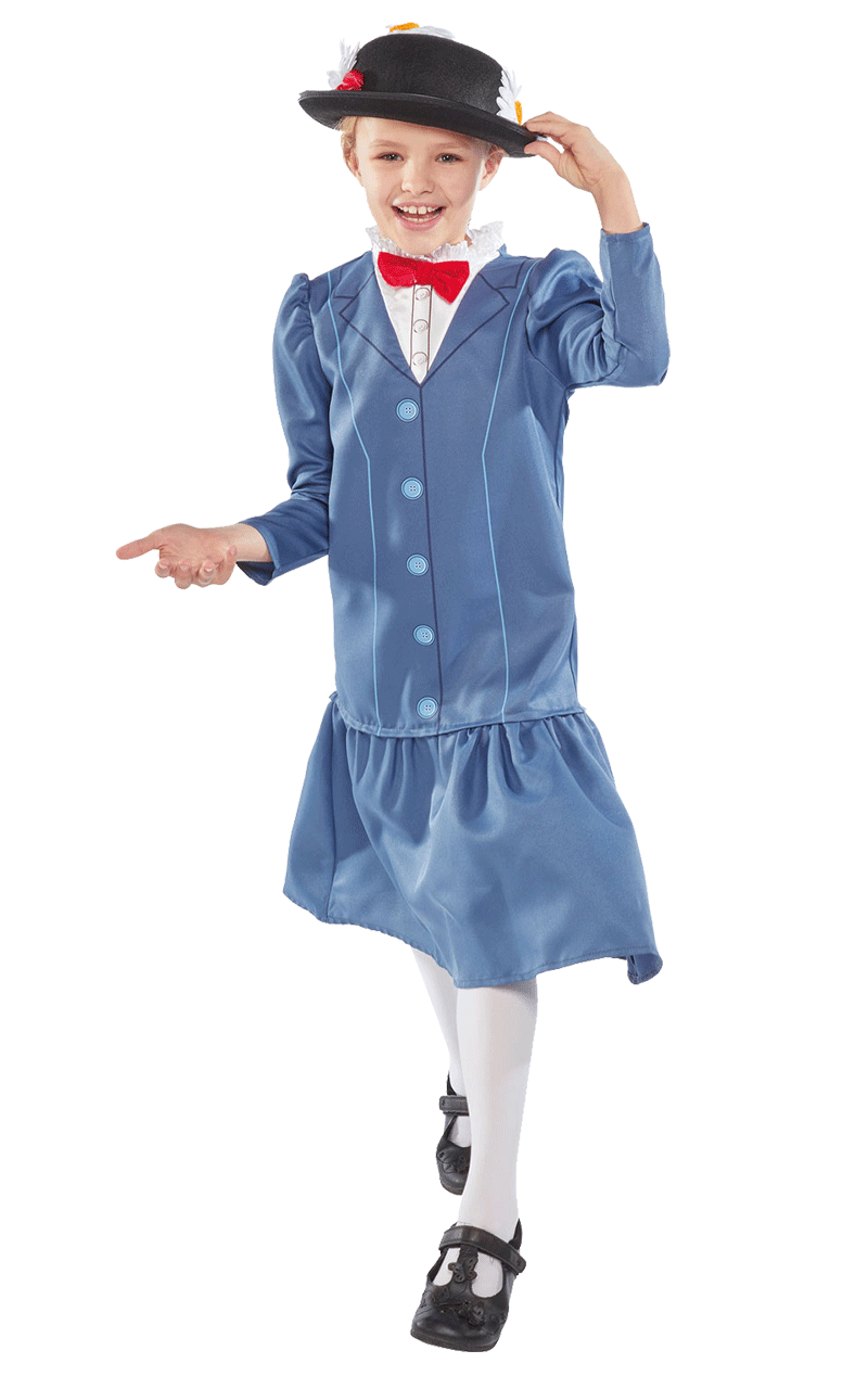 Child Mary Poppins Costume
