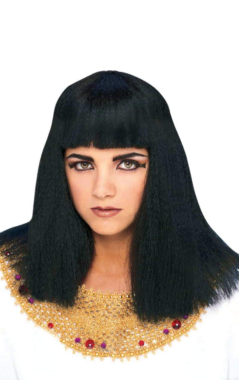 Adult Queen Cleopatra Egyptian Fancy Dress Wig