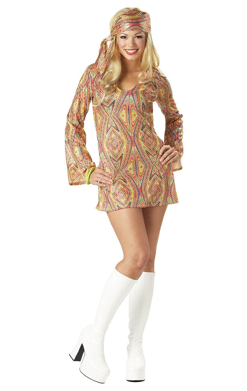 Disco Dolly 70s Costume