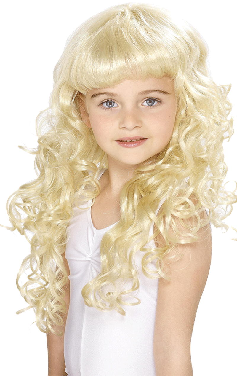Child Princess Wig