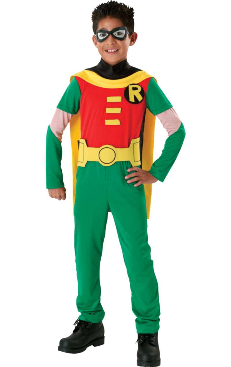 Child Robin Super Hero Costume
