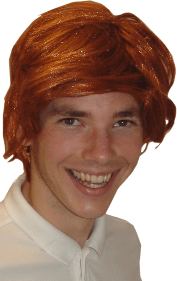 Ginger Tony Wig
