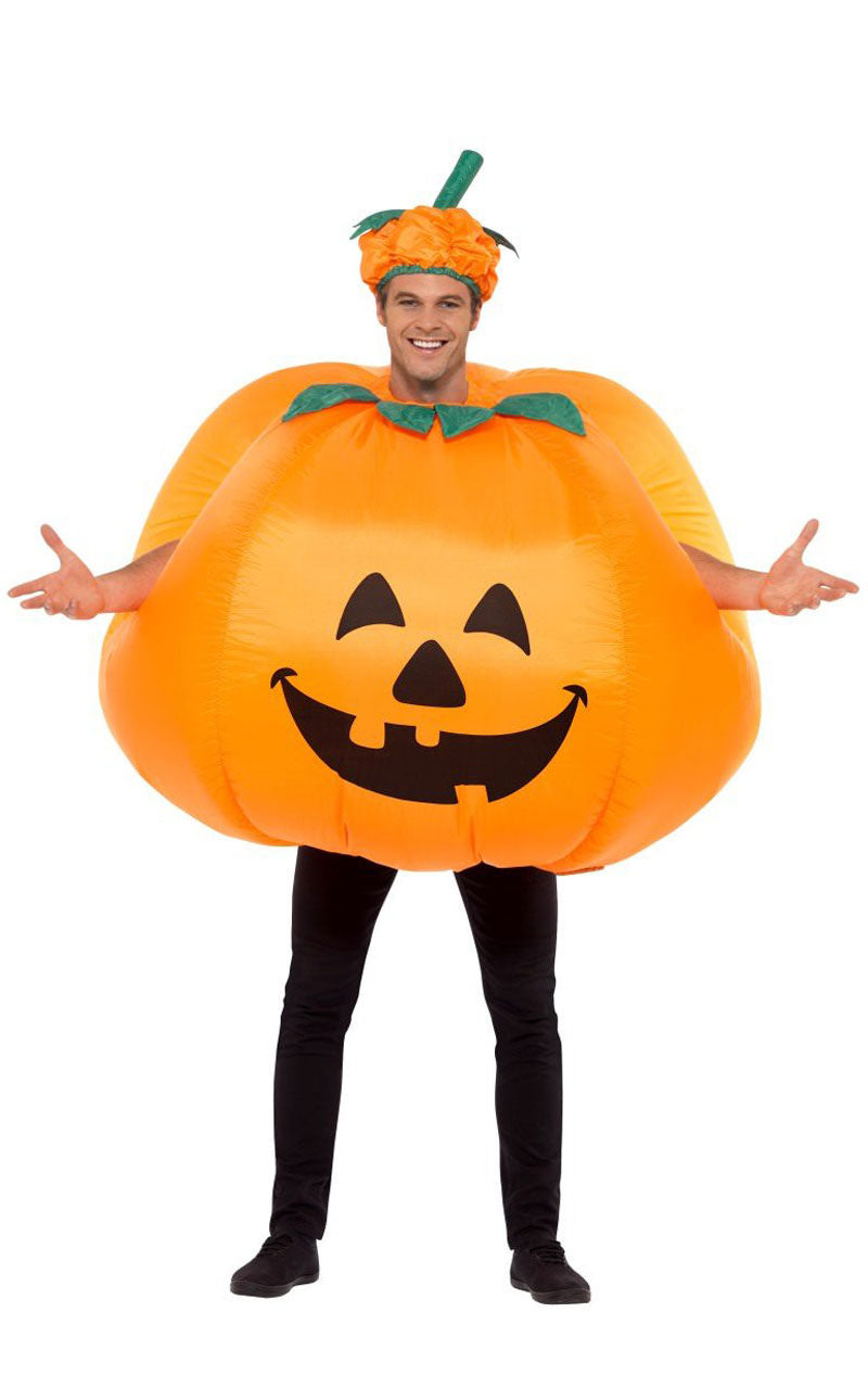 Adult Inflatable Pumpkin Halloween Costume