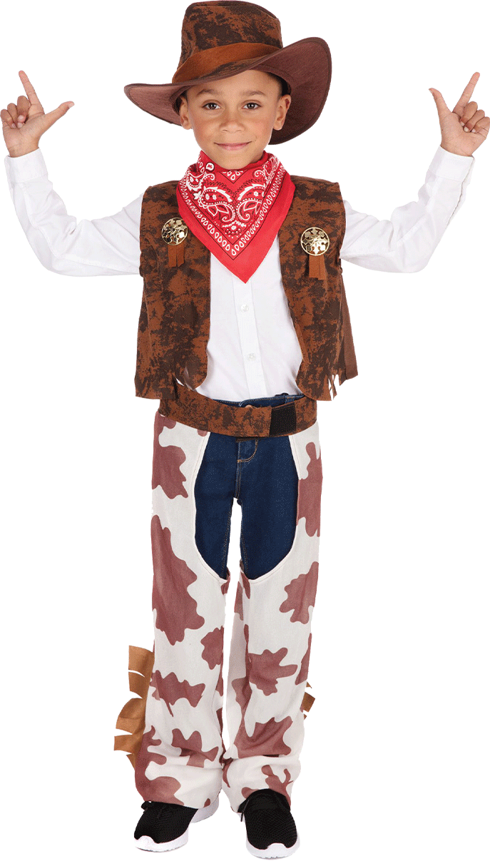 Child Cowboy Costume with Hat