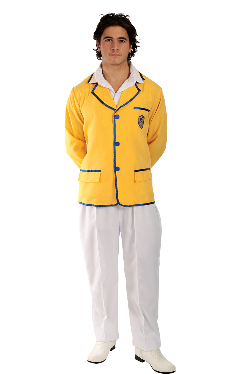Adult Happy Camper Man Costume