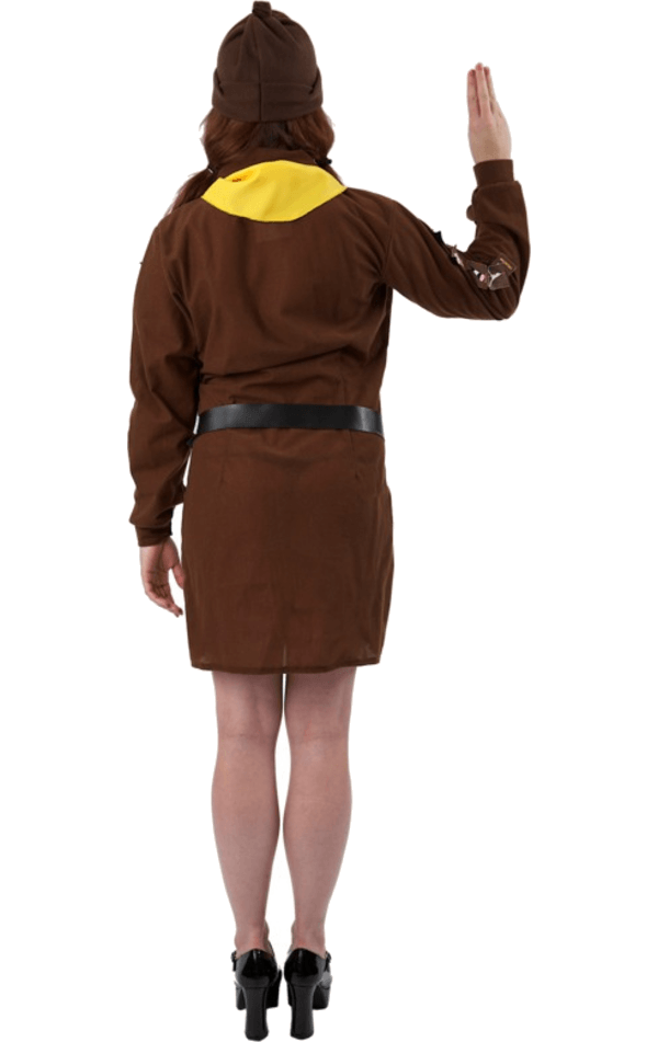 Adult Girl's Brownie Uniform Costume