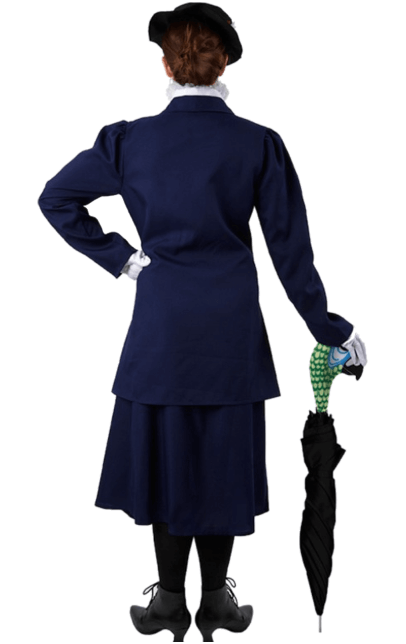 Magical Nanny Costume (And Parrot Head Umbrella Cover)